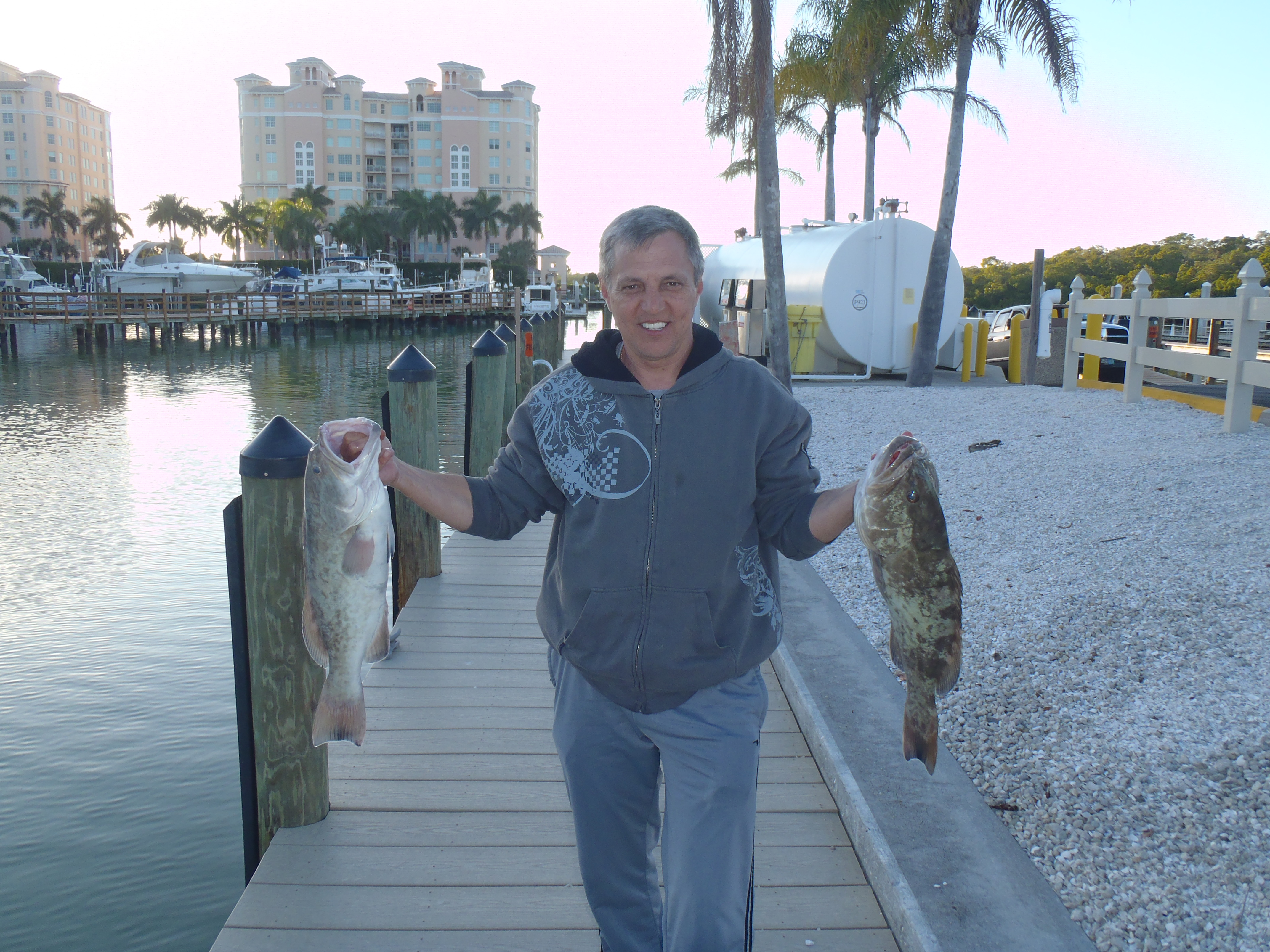 Grouper fishing with john naples fl fishing guide for Fishing with john